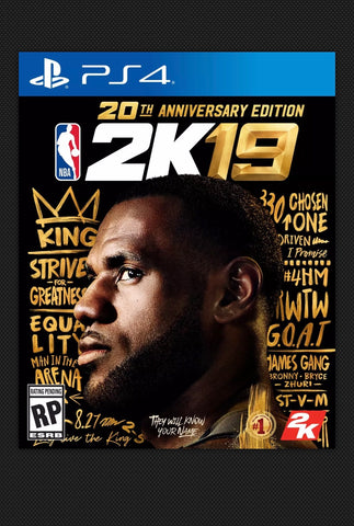 NBA 2K19 20th Anniversary Edition  Released On September 7, 2018