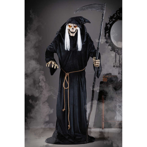 6' Animated Grim Reaper With Lights & Sounds