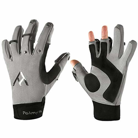 Palmyth Flexible Fishing Gloves Warm for Men and Women