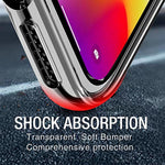 TOZO for iPhone 11 Pro Max Case 6.5 Inch (2019) Premium Clear Soft TPU Gel Ultra-Thin [Slim Fit] Transparent Flexible Cover for iPhone 11 Pro Max with [Clear]