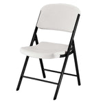 Lifetime Folding Chair with Cart, White or Almond, 32-pack