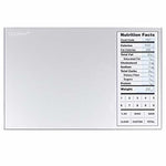 Greater Goods Nourish Digital Kitchen Scale, Food Scale with (New Backlit) Portions Nutritional Facts Display