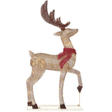LED Deer & Sleigh Set