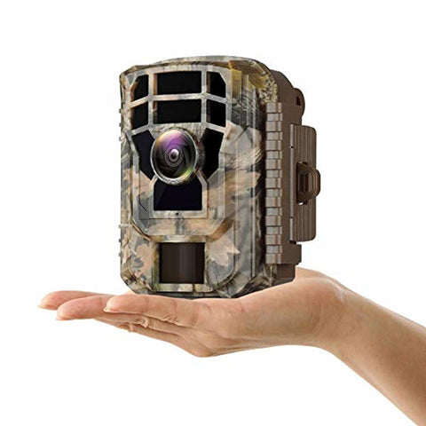 Campark Small Trail Game Camera-12MP 1080P HD Wildlife Waterproof Scouting Hunting Camera