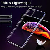 ESR Essential Zero Designed for iPhone 11 Pro Max Case, Slim Clear Soft TPU, Flexible Silicone Cover for iPhone 11 Pro Max 6.5-Inch (2019), Clear