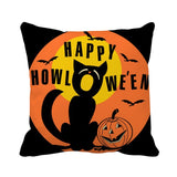 LAPHIL Halloween Party Scary Pumpkin Witch Pillowcase Happy Halloween Decorations for Home 2019 Merry Christmas Party Supplies