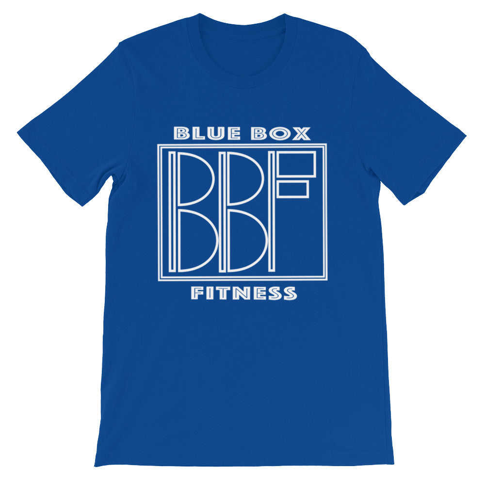 BLUE Box Fitness Tee!