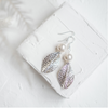 Anneliese white pearl earrings