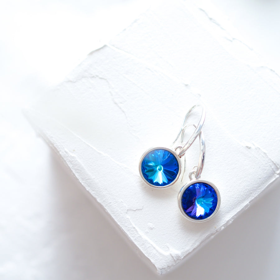 Sunni bermuda blue earrings