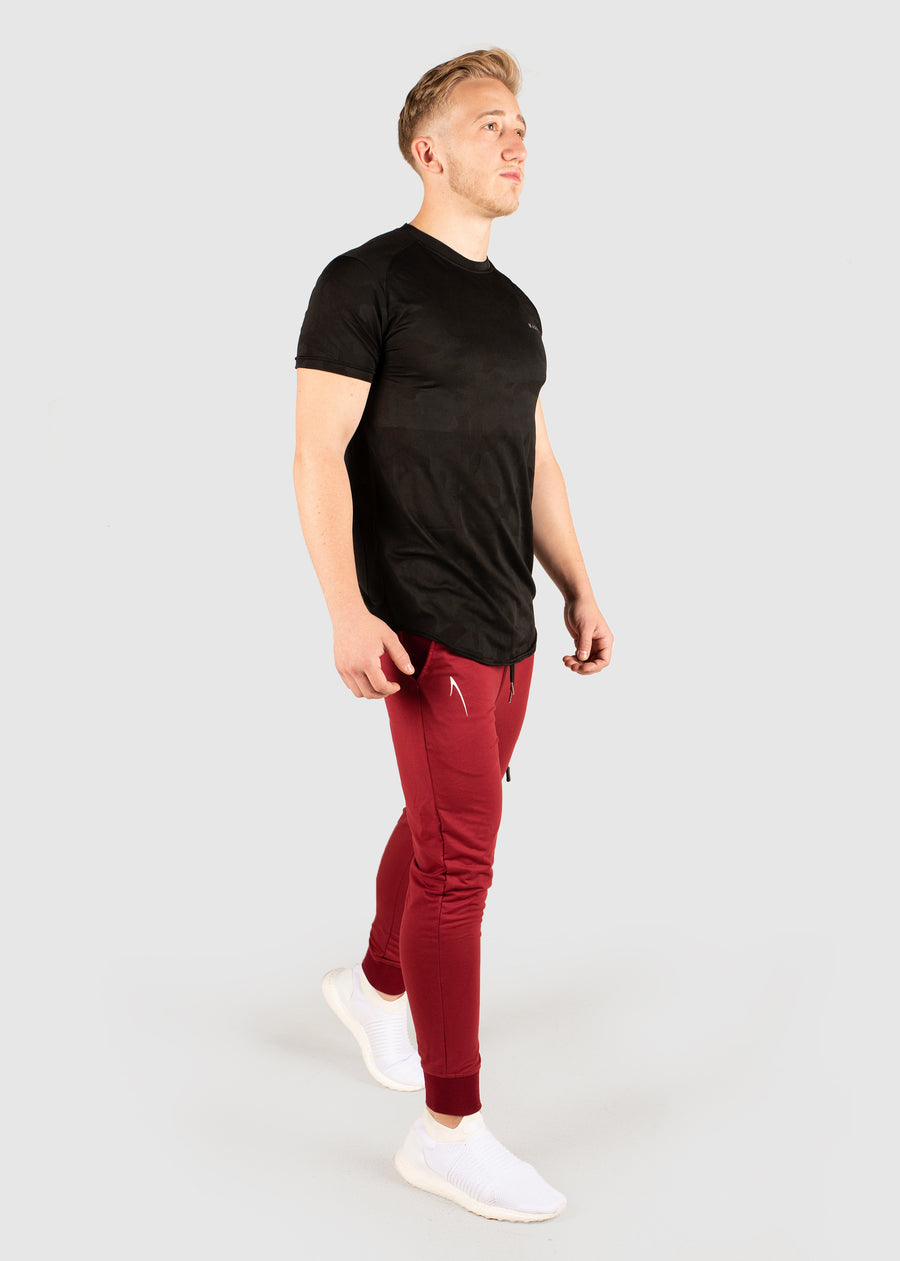 Premium City Jogger - Burnt Maroon