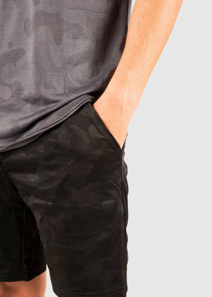 "The Combat Short 7"" - Black Camo"