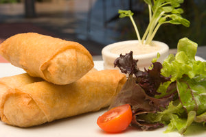Thai Chicken Spring Rolls - The Salsa Bar Favourite!