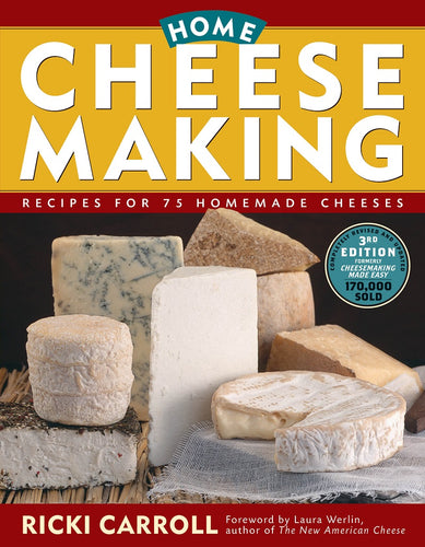 Home Cheese Making Cookbook