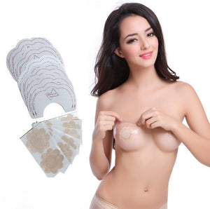 NATIA Disposable Nipple Covers and Breast Lifts (24 pasties + 12 lifts)