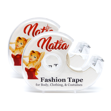 NATIA Double-sided Clear Flash Fashion Lingerie Tape (2 Pack)