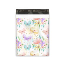 Load image into Gallery viewer, 10x13 Butterfly Designer Poly Mailers Shipping Envelopes Premium Printed Bags