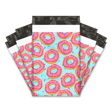"Load image into Gallery viewer, 6x9"" Donut Designer Poly Mailers Shipping Envelopes Premium Printed Bags"