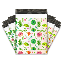 Load image into Gallery viewer, 10x13 Succulents Designer Poly Mailers Shipping Envelopes Premium Printed Bags