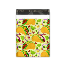 Load image into Gallery viewer, 10x13 Tacos Designer Poly Mailers Shipping Envelopes Premium Printed Bags