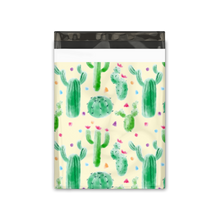 Load image into Gallery viewer, 10x13 Cactus Designer Poly Mailers Shipping Envelopes Premium Printed Bags