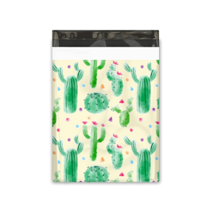 10x13 Cactus Designer Poly Mailers Shipping Envelopes Premium Printed Bags