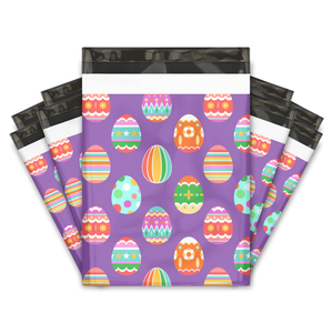 10x13 Easter Egg Designer Poly Mailers Shipping Envelopes Premium Printed Bags