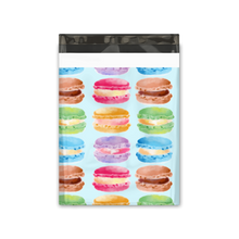 Load image into Gallery viewer, 10x13 Sweet Macaron Designer Poly Mailers Shipping Envelopes Premium Printed Bags