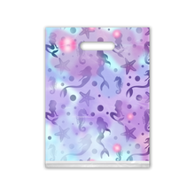 Load image into Gallery viewer, 9x12 Mermaids Under the Sea Designer Poly Plastic Merchandise Bags Premium Printed Bags