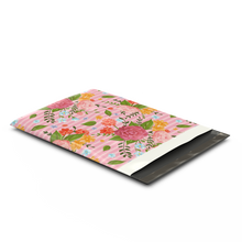Load image into Gallery viewer, 10x13 Floral Roses Designer Poly Mailers Shipping Envelopes Premium Printed Bags