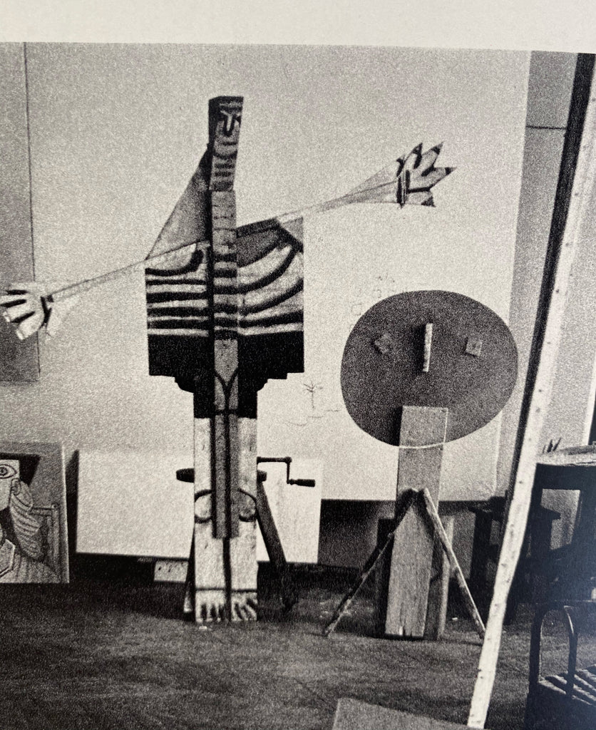 Picasso's Studio from the Matteau Archive