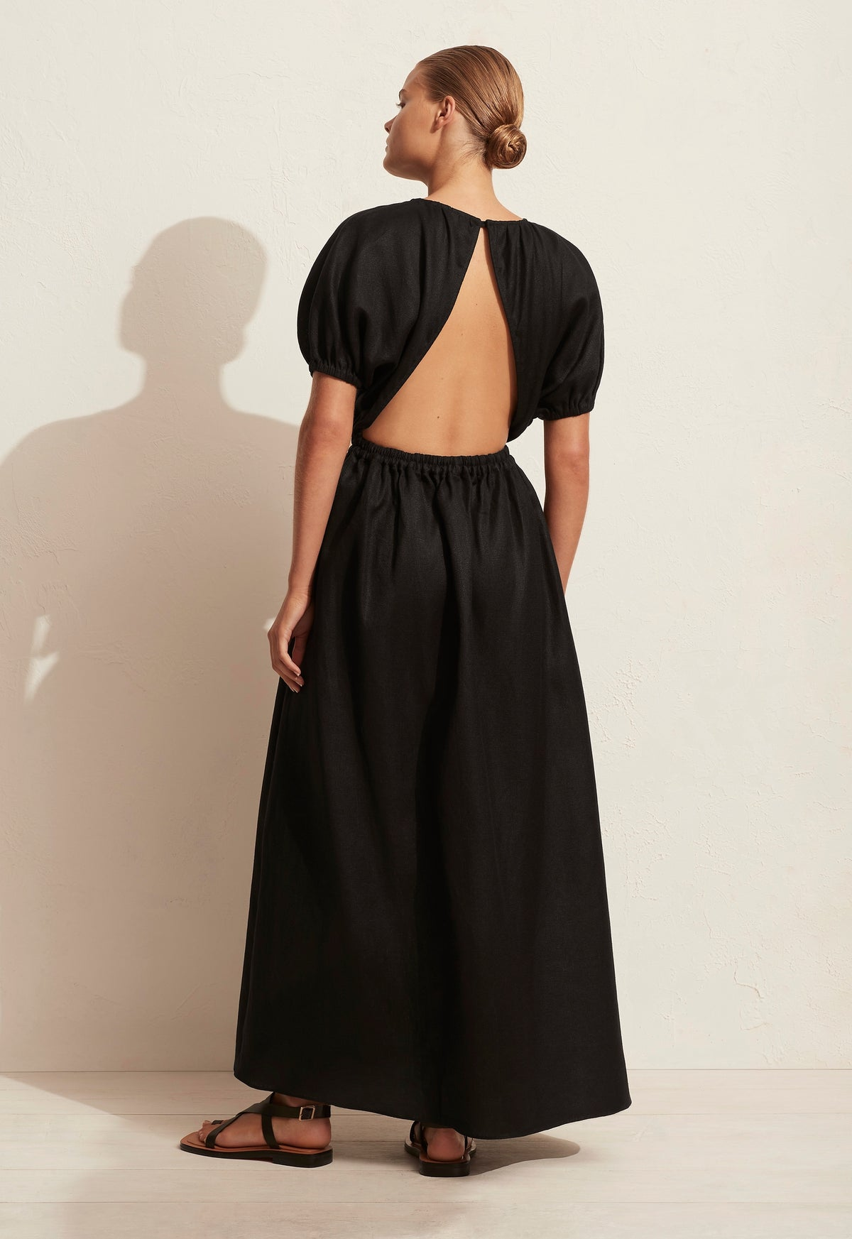 The Cocoon Open Back Dress