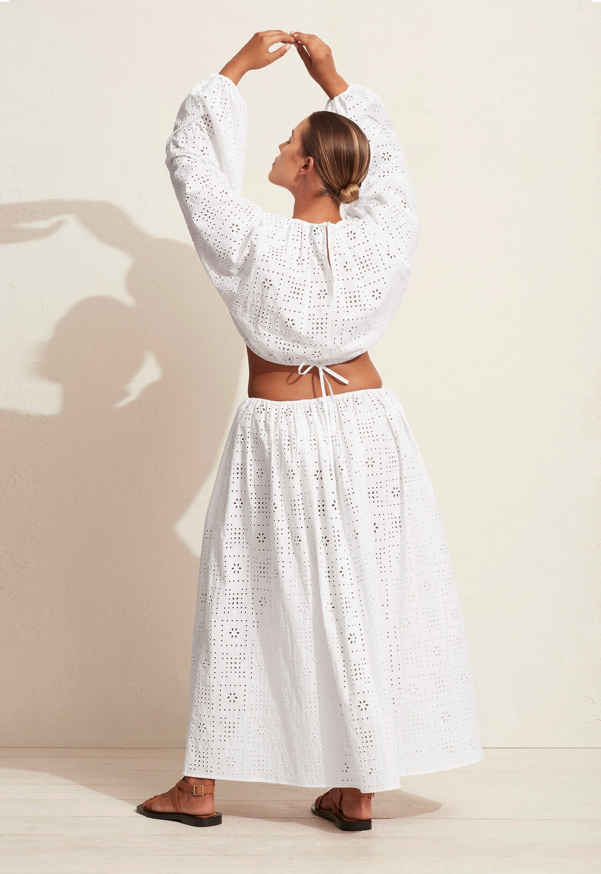 The Crochet Broderie Skirt