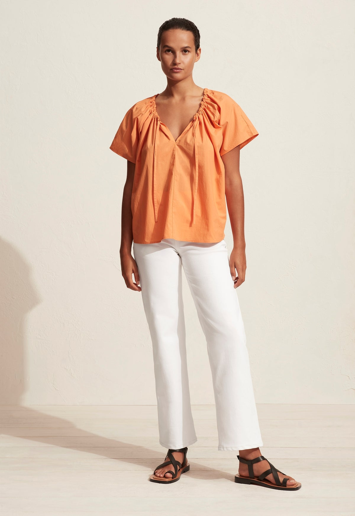 The Drawcord Blouse