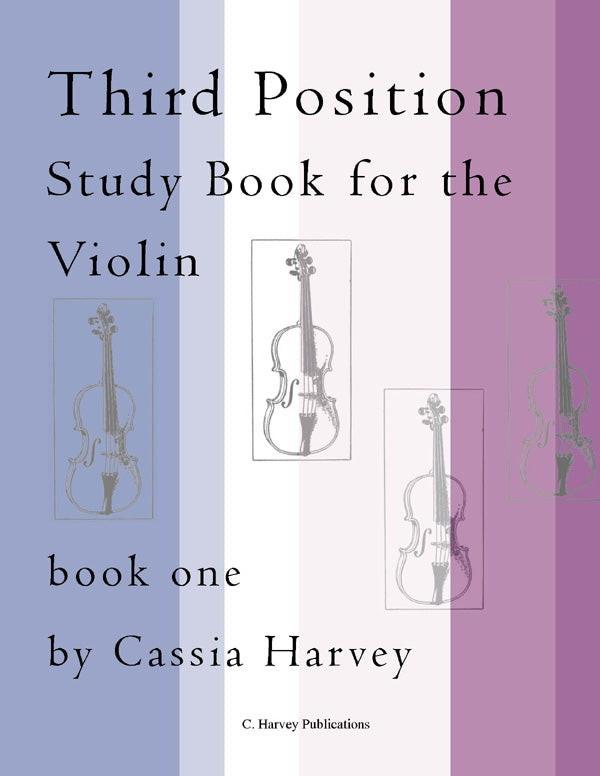 Third Position Study Book for Violin - PDF Download