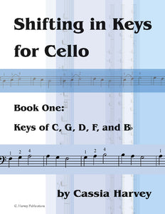 Shifting in Keys for Cello, Book One - PDF Download
