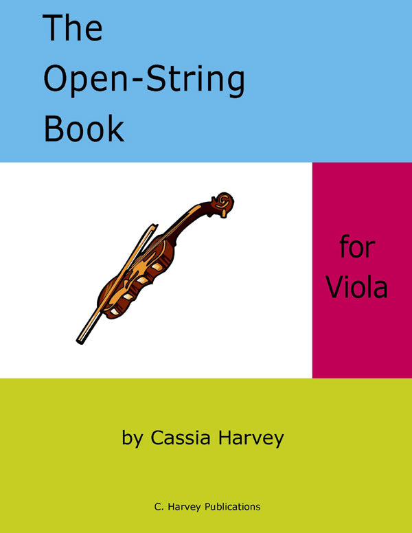 The Open-String Book for Viola - PDF Download