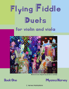 Flying Fiddle Duets for Violin and Viola, Book One - PDF download