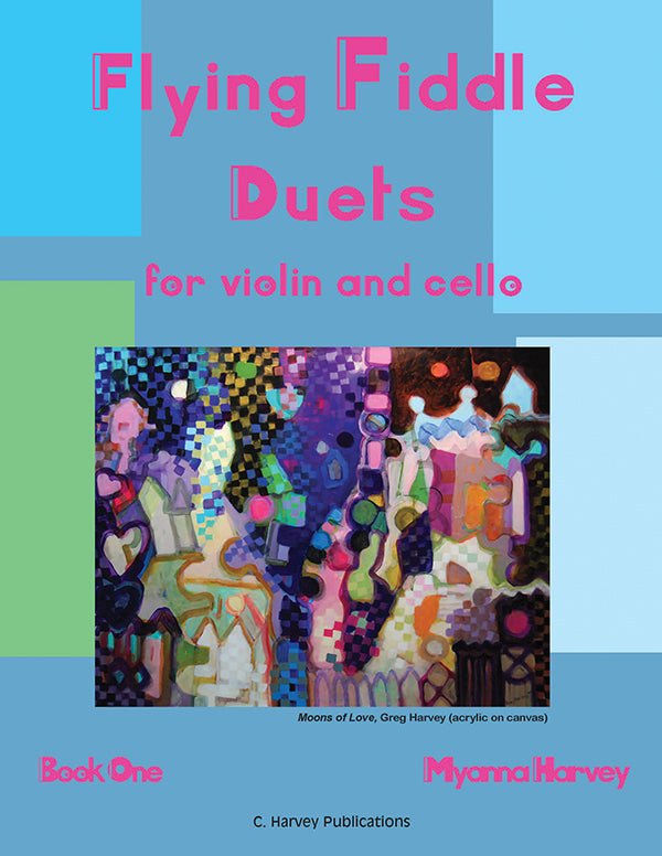 Flying Fiddle Duets for Violin and Cello, Book One - PDF download