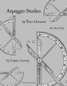Arpeggio Studies in Two Octaves for the Cello - PDF Download