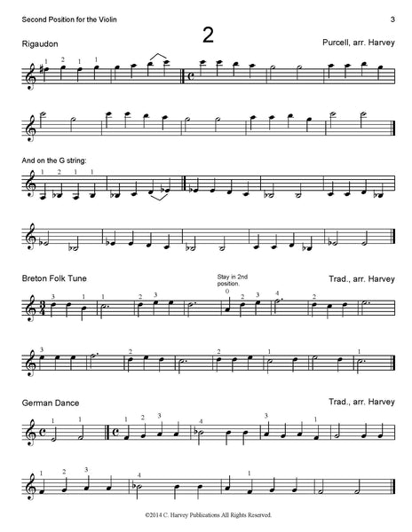 Second Position for the Violin - PDF Download