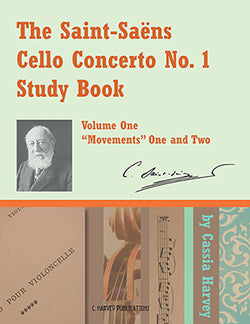 The Saint-Saens Cello Concerto No. 1 Study Book for Cello, Volume One - PDF download