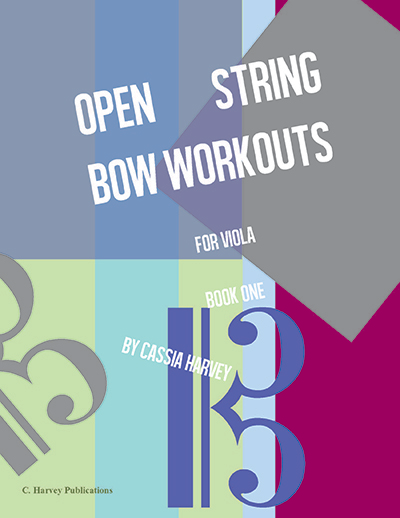 Open String Bow Workouts for Viola, Book One - PDF Download