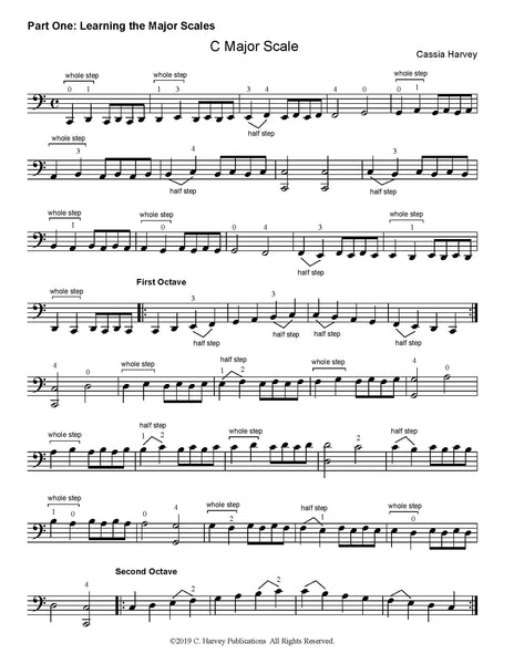 Learning Three-Octave Scales on the Cello - PDF Download