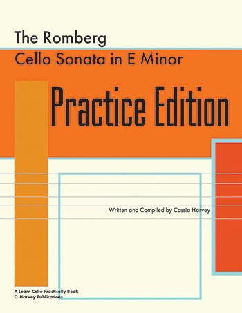 The Romberg Cello Sonata in E Minor Practice Edition - PDF download