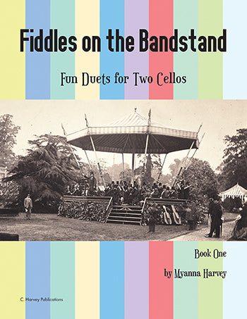 Fiddles on the Bandstand: Fun Duets for Two Cellos, Book One - PDF Download