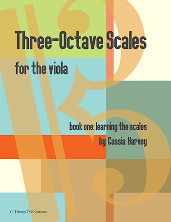 Three-Octave Scales for the Viola, Book One - PDF Download