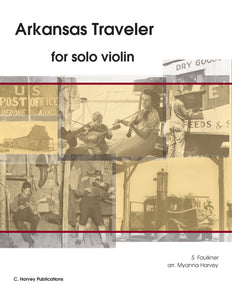 Arkansas Traveler for Solo Violin - Variations on an Unaccompanied Fiddle Tune - PDF download