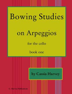 Bowing Studies on Arpeggios for Cello: Improve your cello bowing.