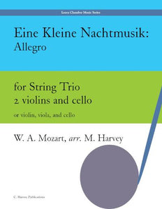Eine Kleine Nachtmusik: Allegro for Student String Trio - PDF download