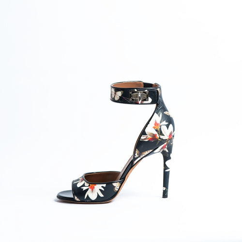GIVENCHY Magnolia and Butterfly Print Heel